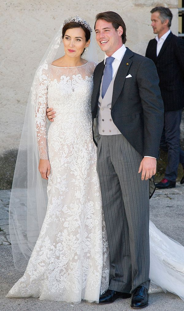 Princess Claire Lademacher Of Luxembourg wedding dress