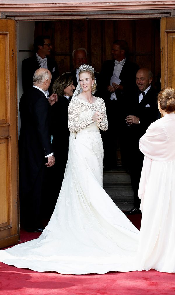 Princess Nathalie of Sayn-Wittgenstein-Berleburg wedding dress
