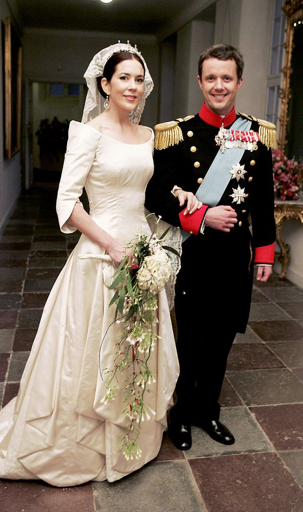 Princess Mary of Denmark wedding dress