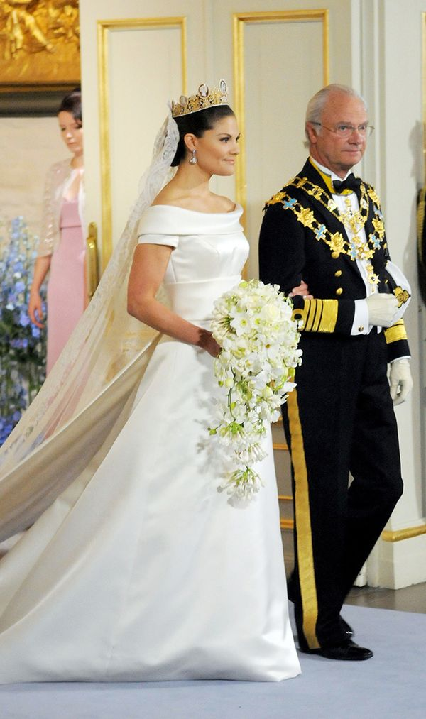 Princess Victoria of Sweden wedding dress