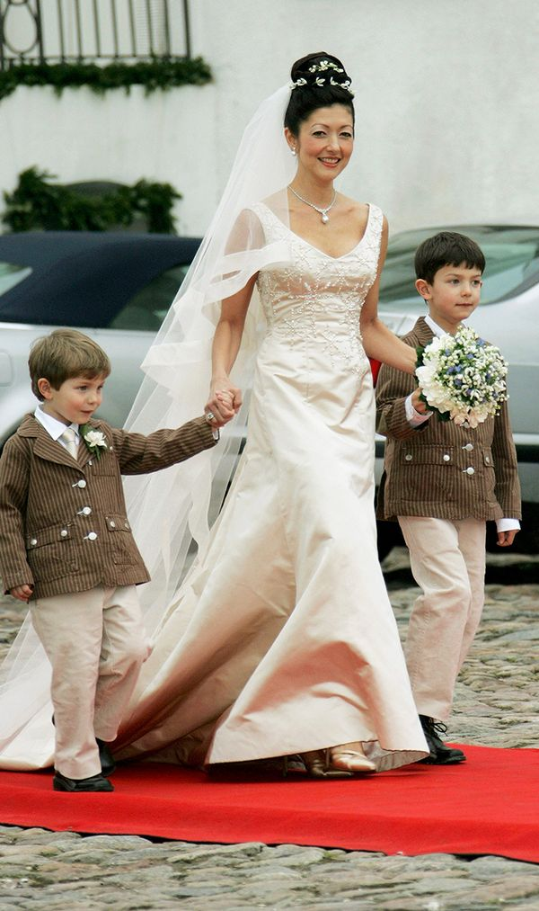 Princess Alexandra of Denmark wedding dress