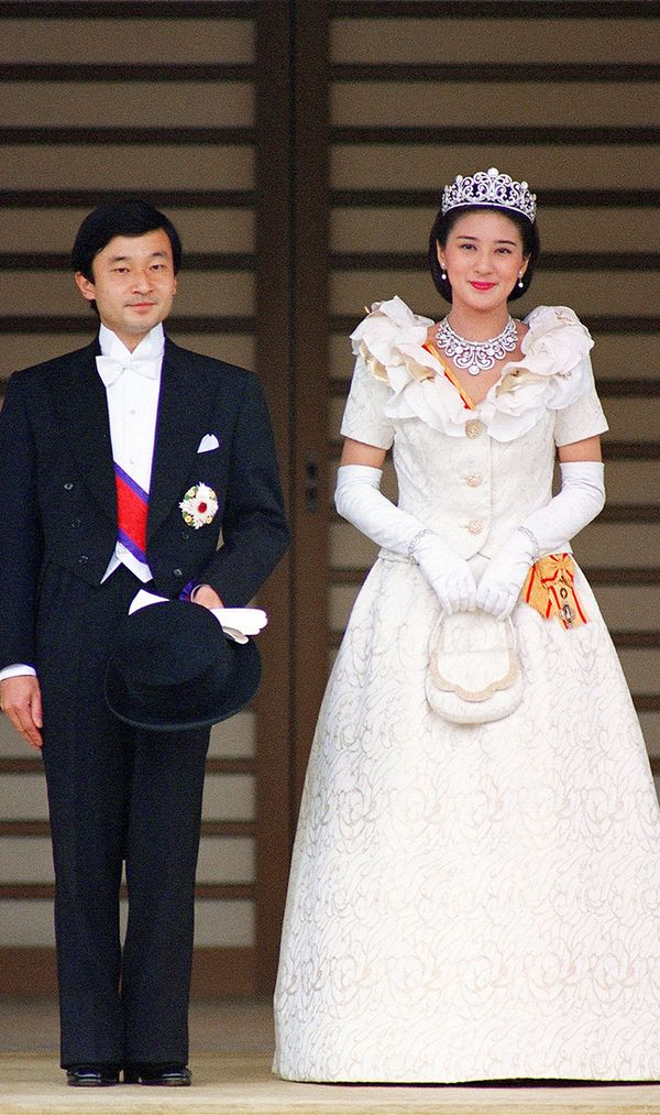 Princess Masako of Japan wedding dress