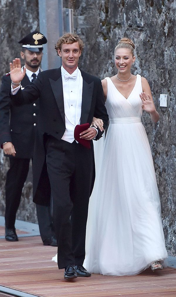 Princess Beatrice of Monaco wedding dress
