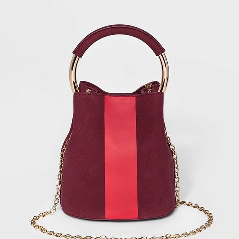 Mini Top-Handle Handbag
