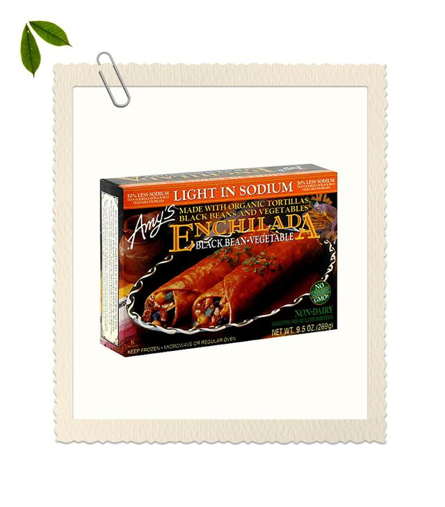 Amy's Black Bean & Vegetable Enchilada, Light in Sodium (Pack of 12)