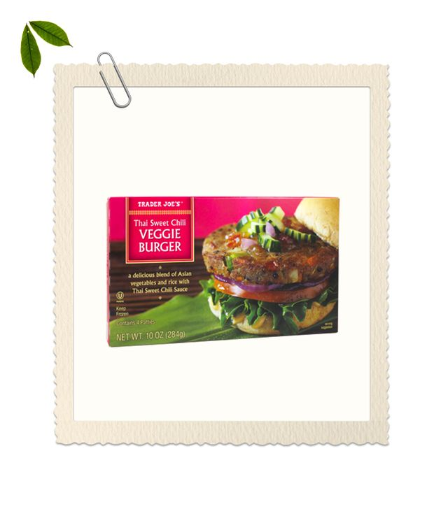 Trader Joe's Thai Sweet Chili Veggie Burger
