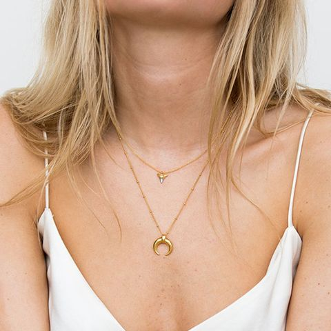 Lucy Williams Large Horn Necklace