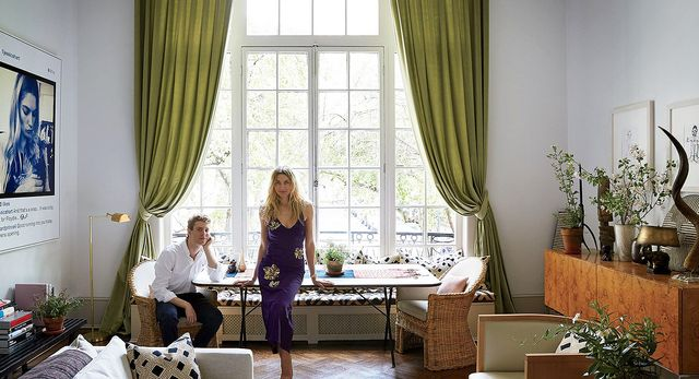 Jessica Hart New York Apartment Architectural Digest