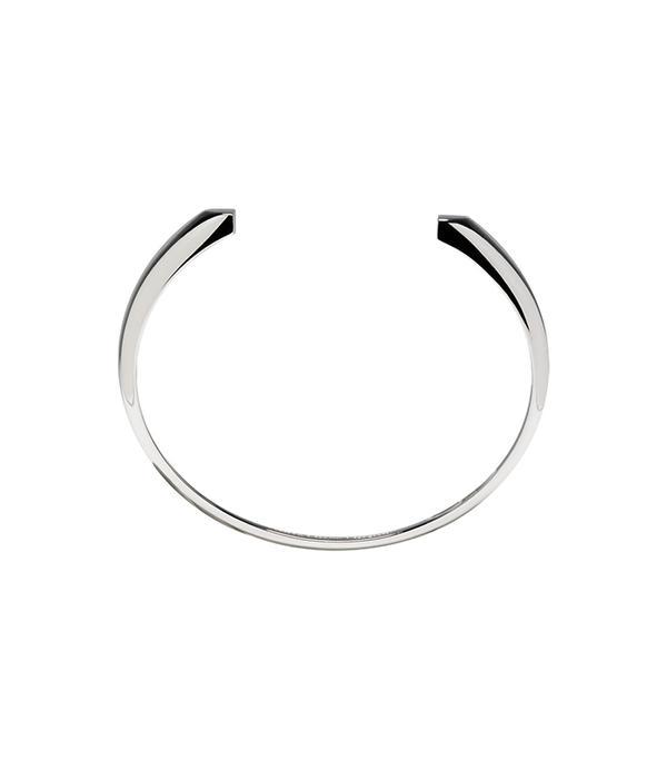 Maison Margiela Fine Jewellery Silver Chevaliere Split Bracelet