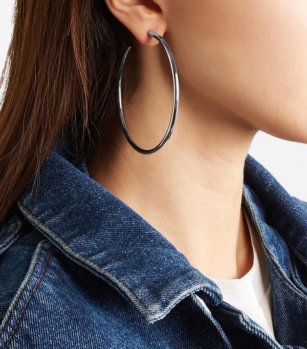 Jennifer Fisher Classic Hollow Hoop Earrings