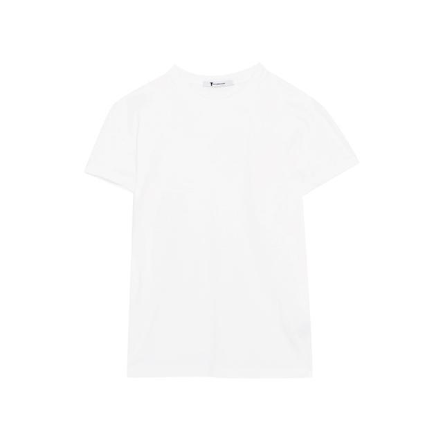 prickly heat: T by Alexander Wang Cotton-Jersey T-Shirt