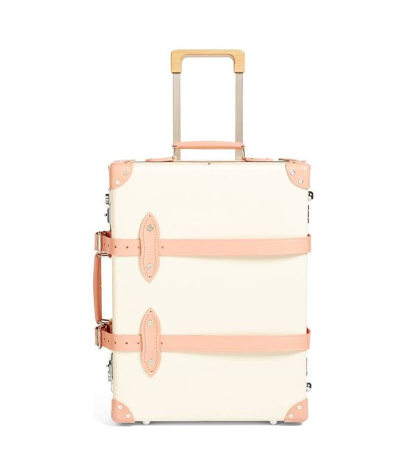"Globe-Trotter Centenary 20"" Trolley Packing Case - Ivory"