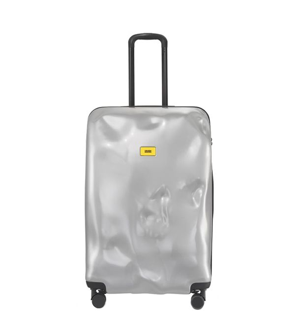 Crash Baggage Large Bright Trolley Case - Metallic