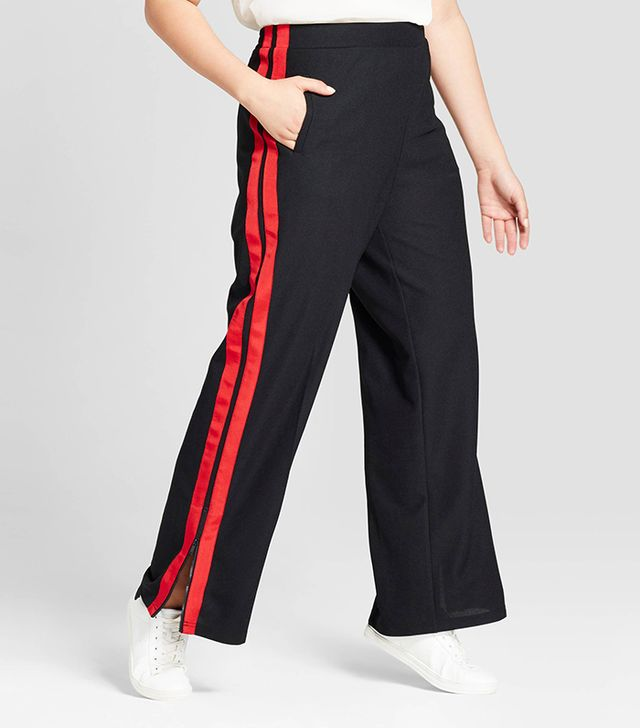 Who What Wear Wide Leg Track Pants