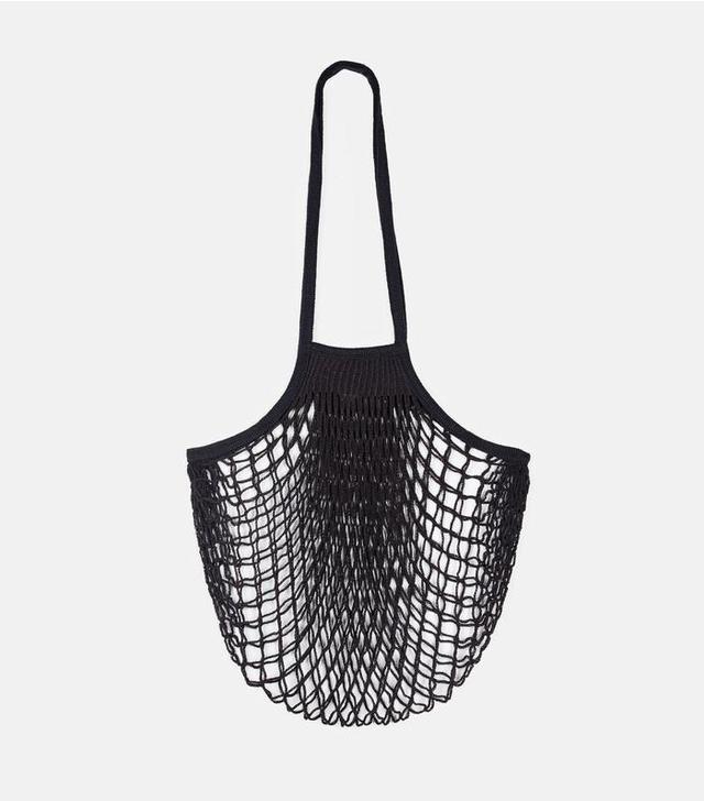 The Line Filt Large Net Bag in Black