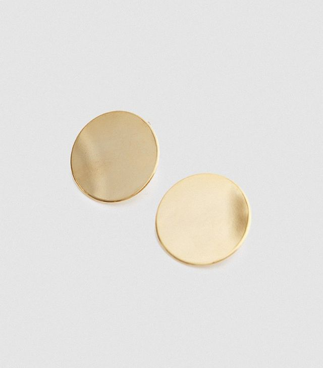 Circle Earring Small in Gold