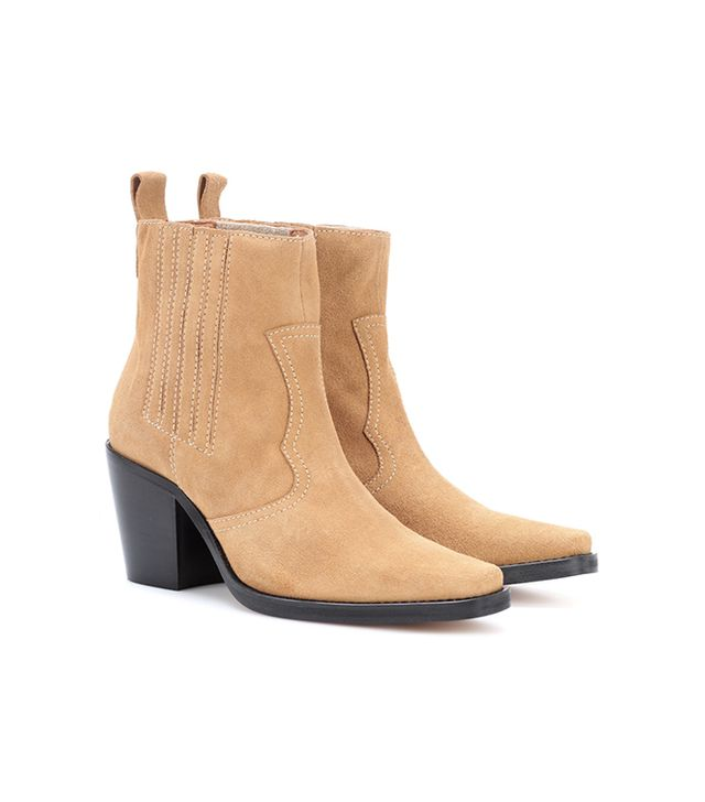 Rita suede ankle boots