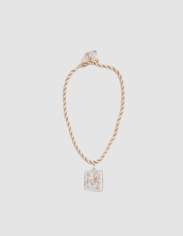 Shell Cube Necklace
