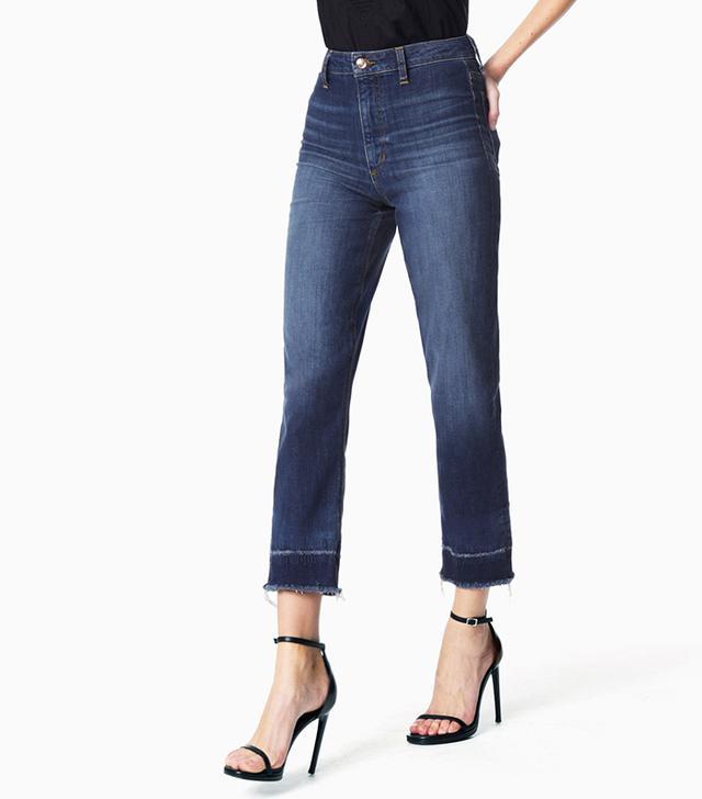 Joe's Jeans The Debbie High Rise Straight Ankle // Reiz