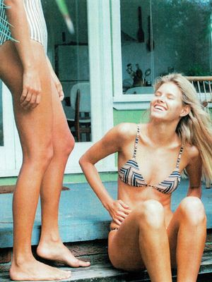 This Australian Swimwear Label's New Collection Is '70s Surfer Girl Goals