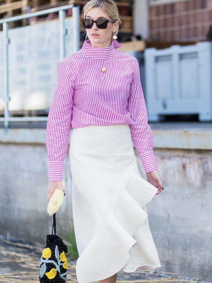 Copenhagen Fashion Week Street Style 2017: Camille Charriere