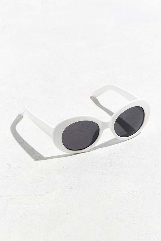 Plastic Oval Sunglasses