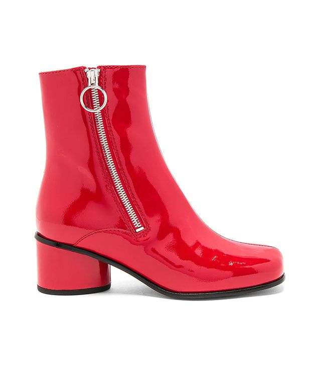 Crawford Bootie in Red. - size 36 (also in 38.5)