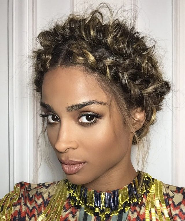 Remember Ciara's painfully beautiful pulled-apart fishtail double crown braid created by mastermind Cesar Ramirez? Yeah, we're still not over it either—and truth be told, if it had been done...