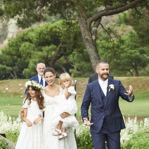 This Is What It Looks Like When a Former Victoria's Secret Model Gets Married