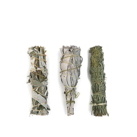 Set of 3 Small White Sage Smudge