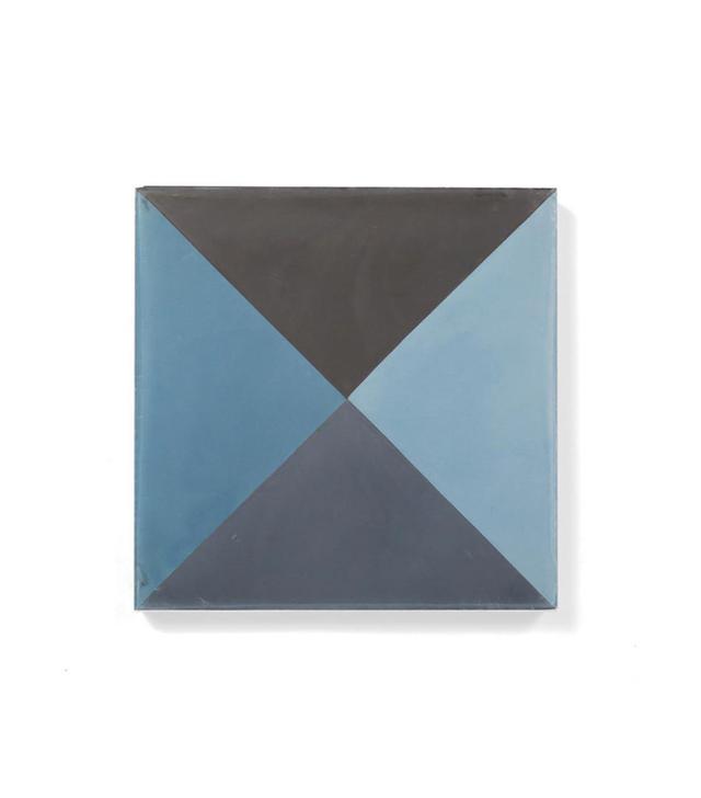 Bespoke Tiles Quarter Blue Black