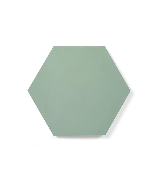 Bespoke Tiles Hexagon Sage