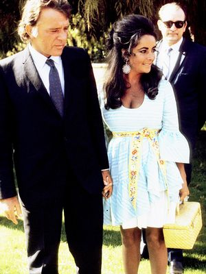 Elizabeth Taylor and Richard Burton = Couple Outfit Goals