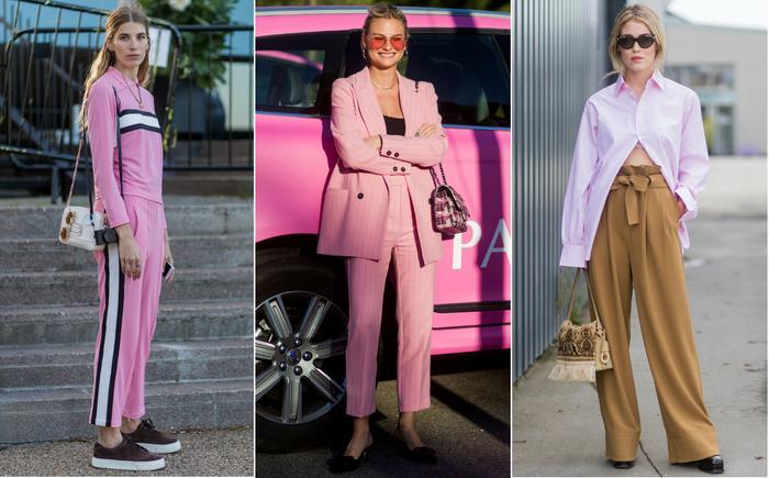Copenhagen fashion week trends: Millennial pink