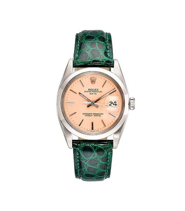 Women's Vintage Oyster Perpetual Date Watch