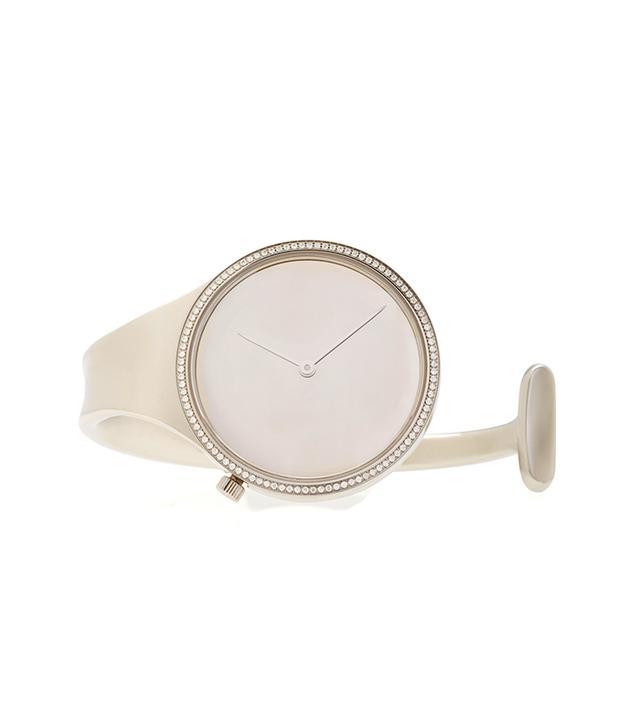 Steel with Diamond Bezel Watch
