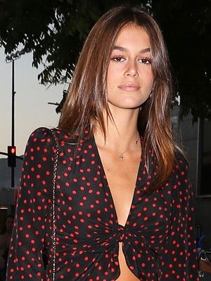 Did French Girls' Instagrams Inspire Kaia Gerber's Concert Outfit?