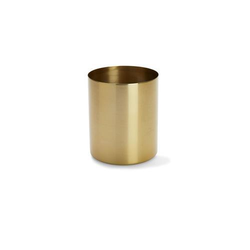 Kmart Brass Finish Metal Planter