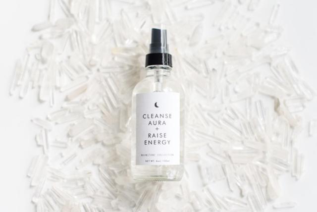Nourish & Refine Cleansing Aura + Raise Energy Crystal Aura Spray