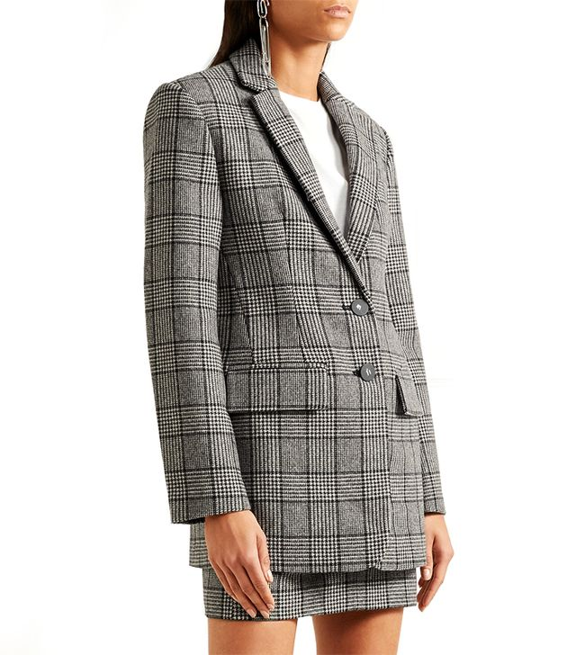 Aldridge Checked Wool-blend Tweed Blazer