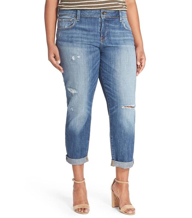 Reese Distressed Boyfriend Jeans