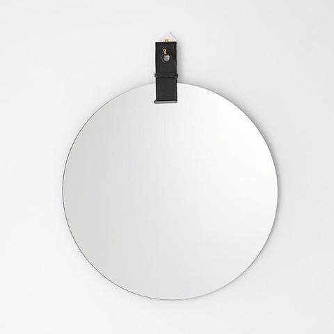 Round Frameless Mirror