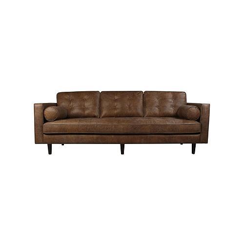 Matt Blatt Lexington Leather 3 Seater Sofa