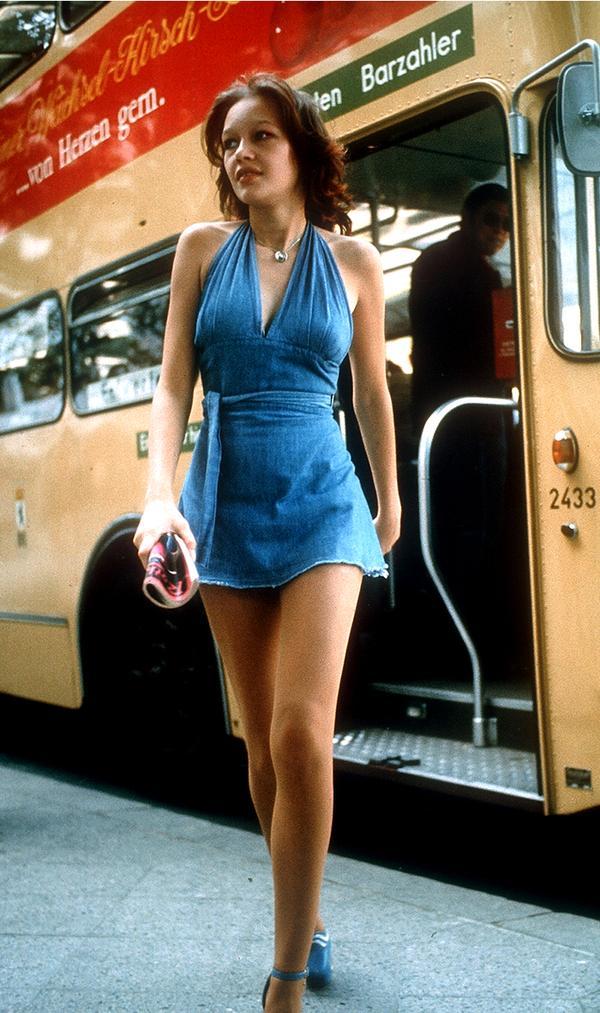 Junge Frau in Berlin 1970