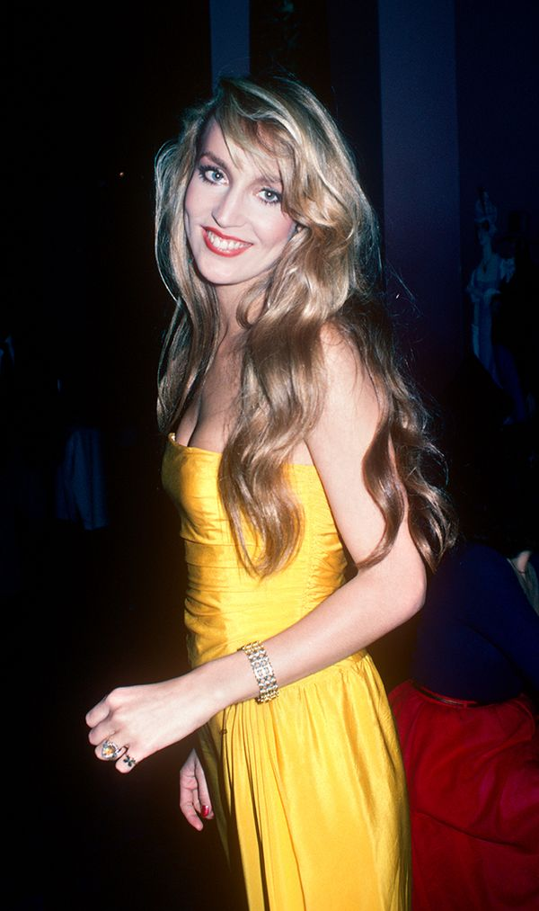 Jerry Hall in New York 1978
