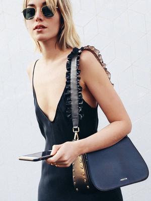 Carmen Hamilton May Have Found the Easiest Handbag Hack Yet