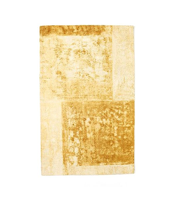 Distressed Rococo Wool Rug
