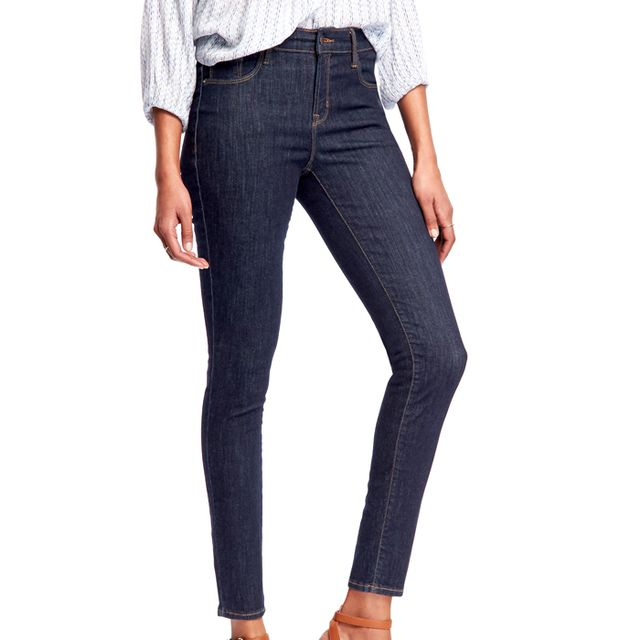 Old Navy Mid-Rise Rockstar Built-In Sculpt Jeans