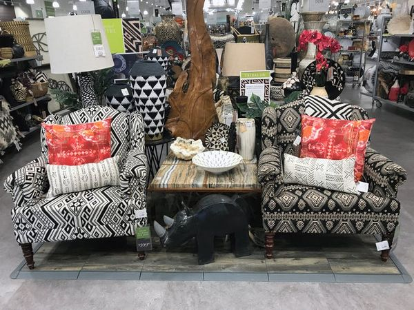 "Customers are greeted with a ""curated corner"" of themed décor that will change every six weeks."