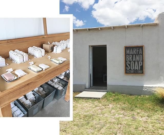 things to do inmarfamarfa brand soap